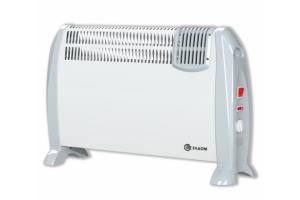 Подов конвектор с вентилатор Елдом 2kW - Бял - CFV2000