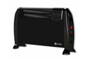 Подов конвектор с вентилатор Елдом 2kW - Черен - CFV2000BL