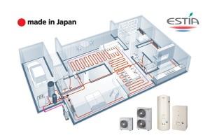 Термопомпа въздух-вода ESTIA
